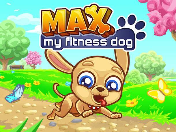 Max – My Fitness Dog Game Slider