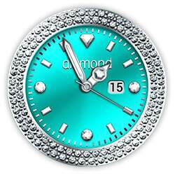 Diamond Collection - Watch Face Turquoise