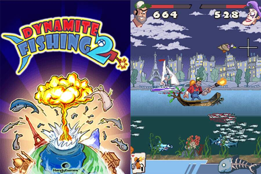 Dynamite Fishing 2 Screenshots
