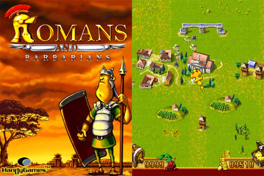 Romans And Barbarians Screenshots