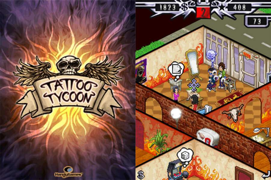 Tattoo Tycoon Screenshots