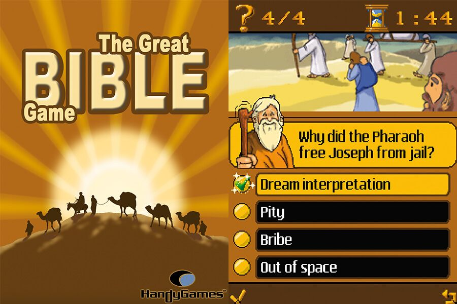 The Great Bible Game Screenshots