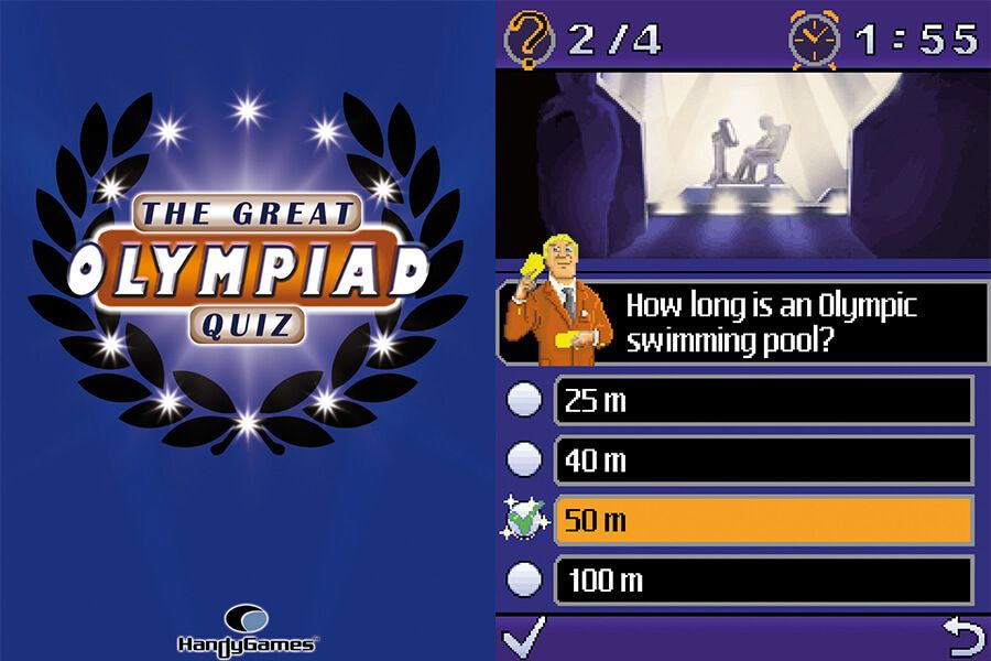 The Great Olympiad Quiz Screenshots