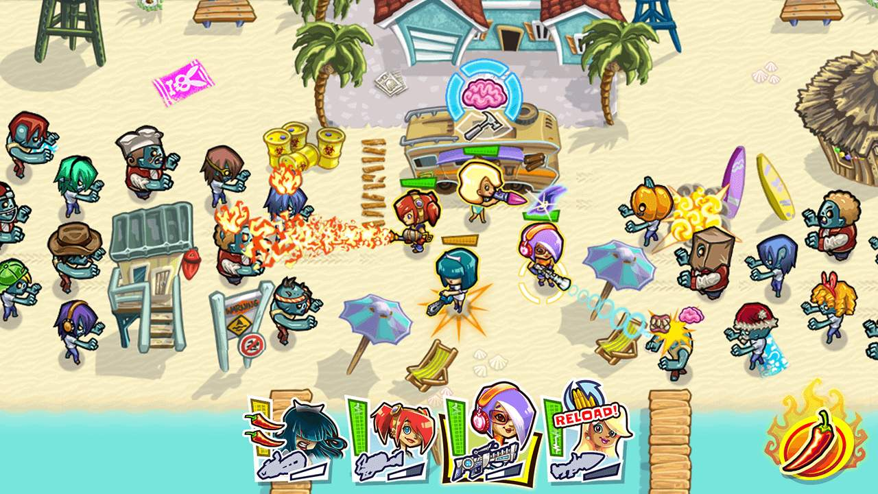 Guns 'n' Glory Zombies Screenshot 01