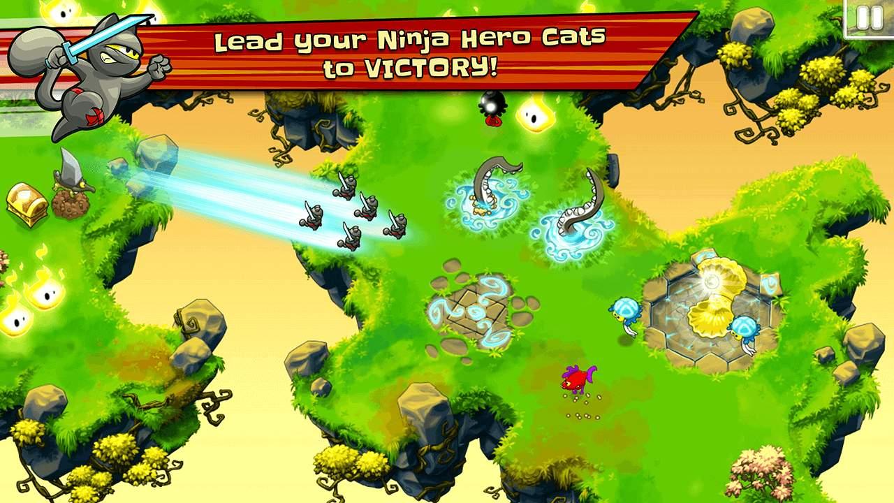 Ninja Hero Cats Screenshot 01
