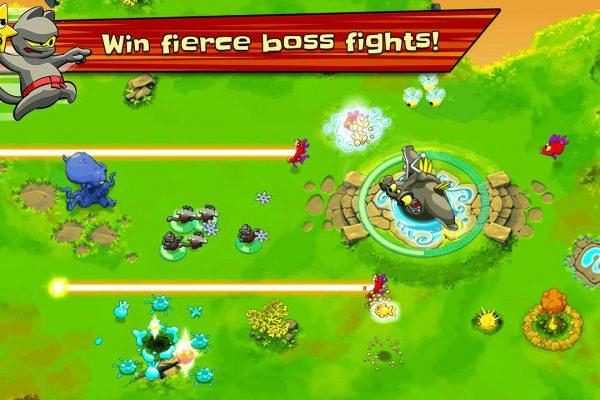 Ninja Hero Cats Screenshot 03
