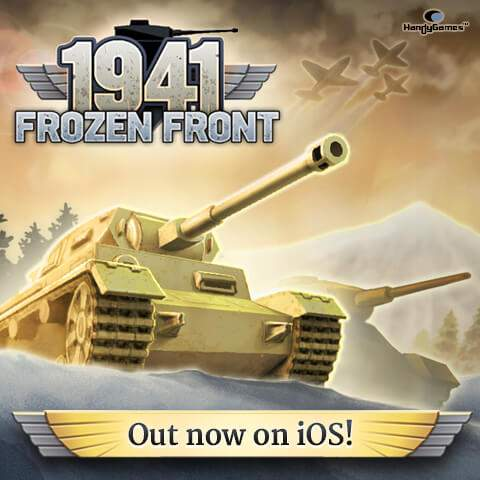 1941 Frozen Front iOS release; tanks, planes, strategy