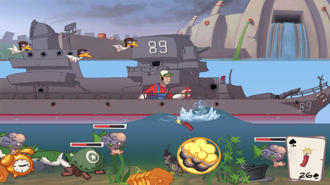 Super Dynamite Fishing Screenshot 03