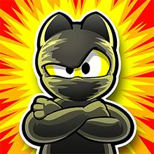 Ninja Hero Cats Game Icon