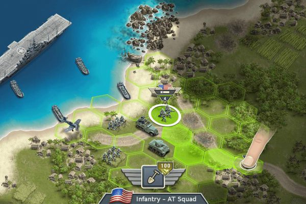 Rise as a glorious general in the Pacific War!