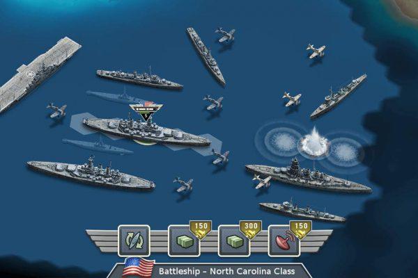 Fight in epic sea battles