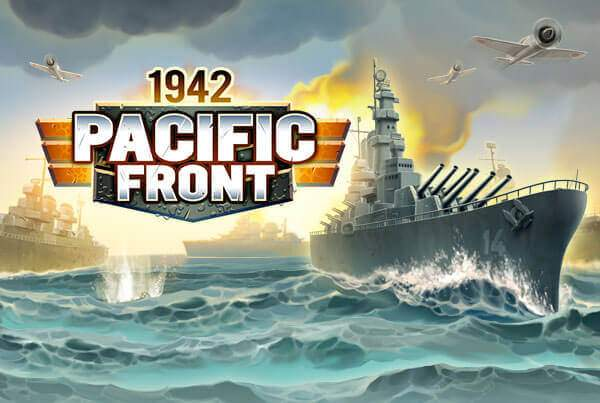 Fight with Battleships, Planes, Tanks and Infantry in the strategy game1942 Pacific Front