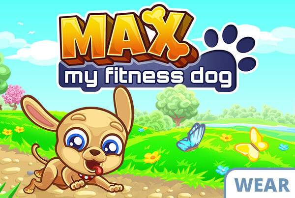 Max – My Fitness Dog Banner