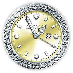 Diamond Collection - Watch Face Gold