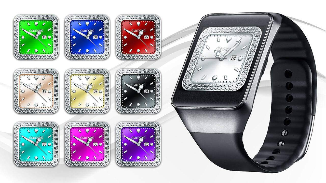 Diamond Collection – Watch Face Screenshot