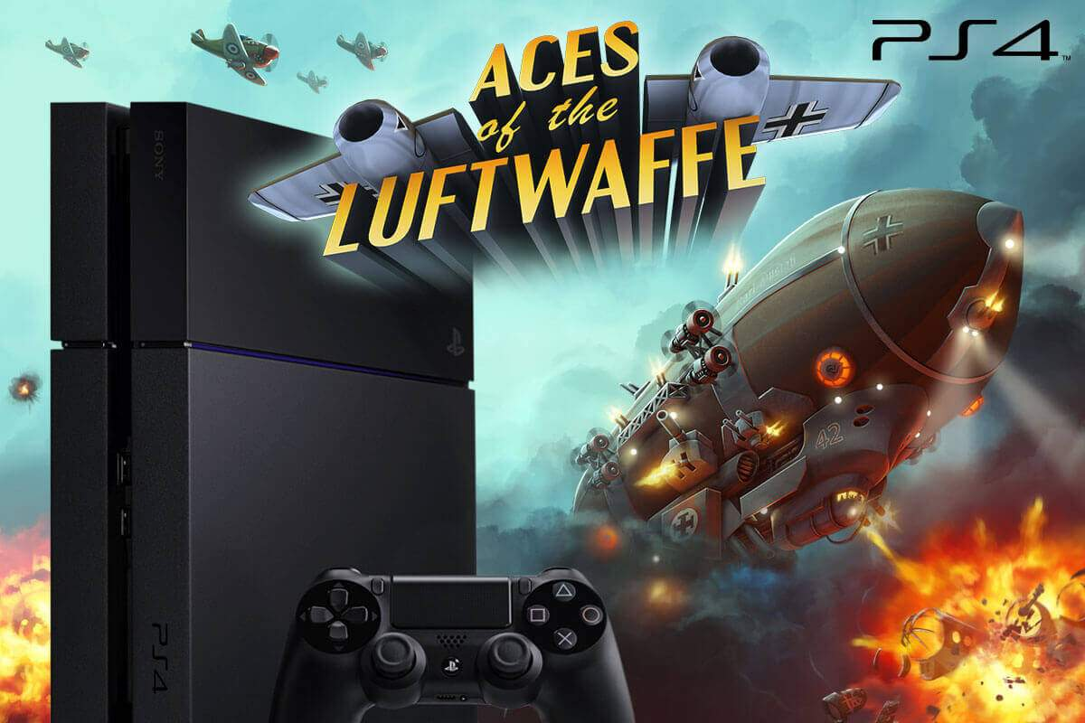 Aces of the Luftwaffe - now available for your PS4™
