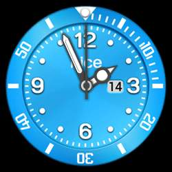 nice Collection - Watch Face Blue