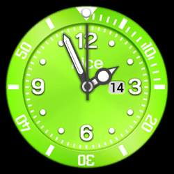 nice Collection - Watch Face Green