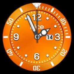 nice Collection - Watch Face Orange