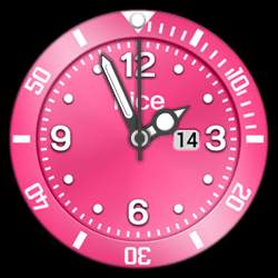 nice Collection - Watch Face Pink