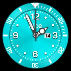nice Collection - Watch Face Turquoise