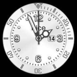 nice Collection - Watch Face White