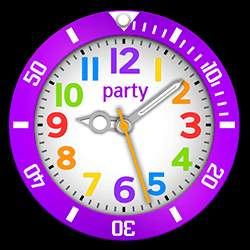 party Collection – Watch Face Purple