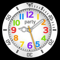 party Collection – Watch Face White