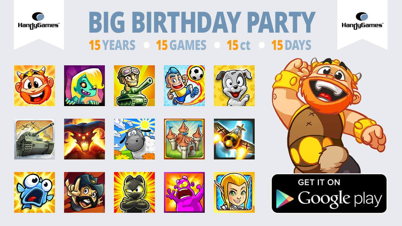 Super Sale - 15 Games for 15ct on Google Play!