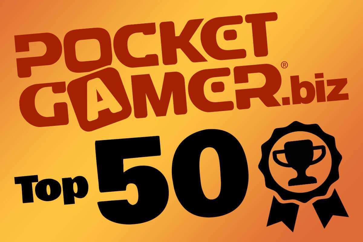 HandyGames™ is one of PocketGamer.biz's Top 50 Developer 2015!