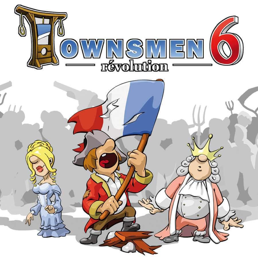 Townsmen 6 Game Banner
