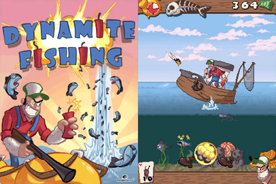Dynamite Fishing Screenshots