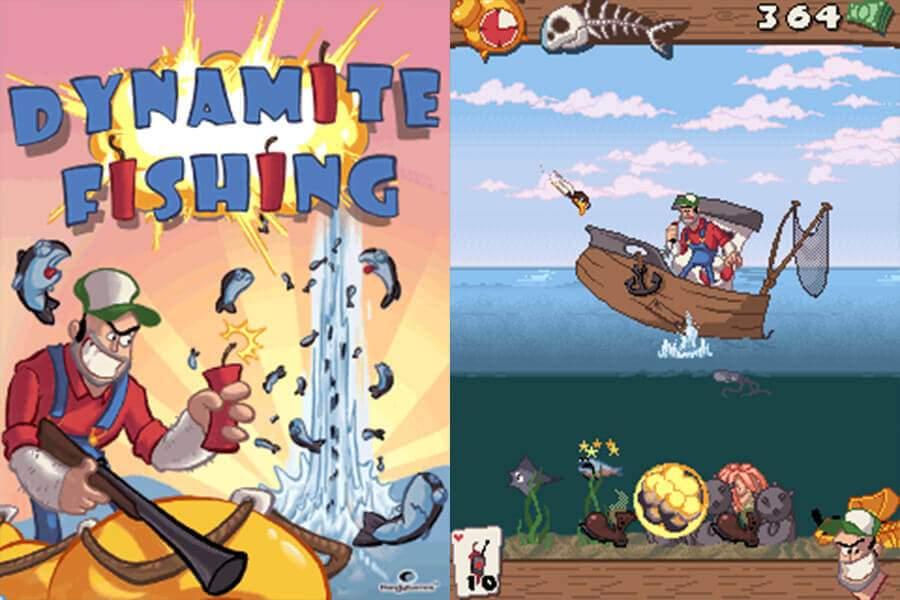 Dynamite Fishing Screenshots