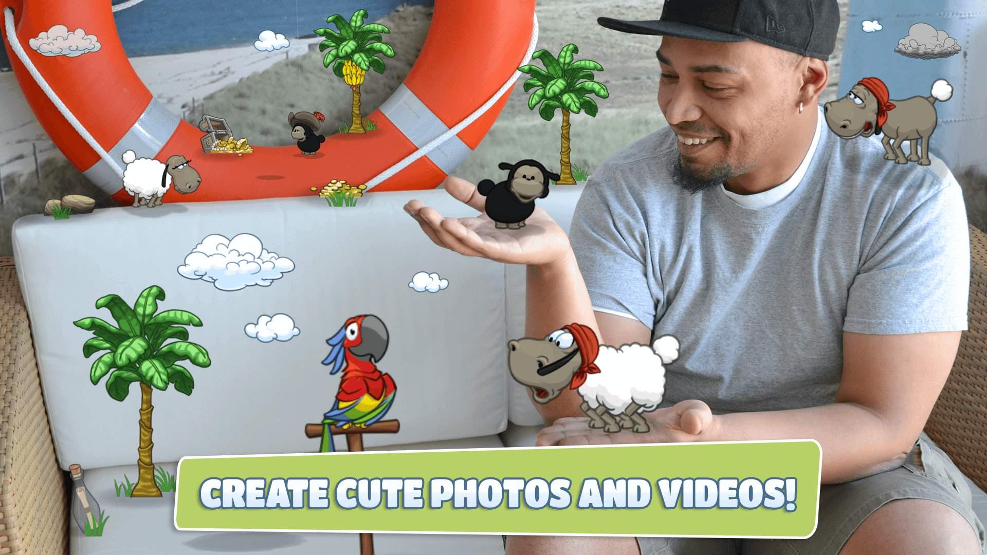 Clouds & Sheep AR Effects Screenshot 01