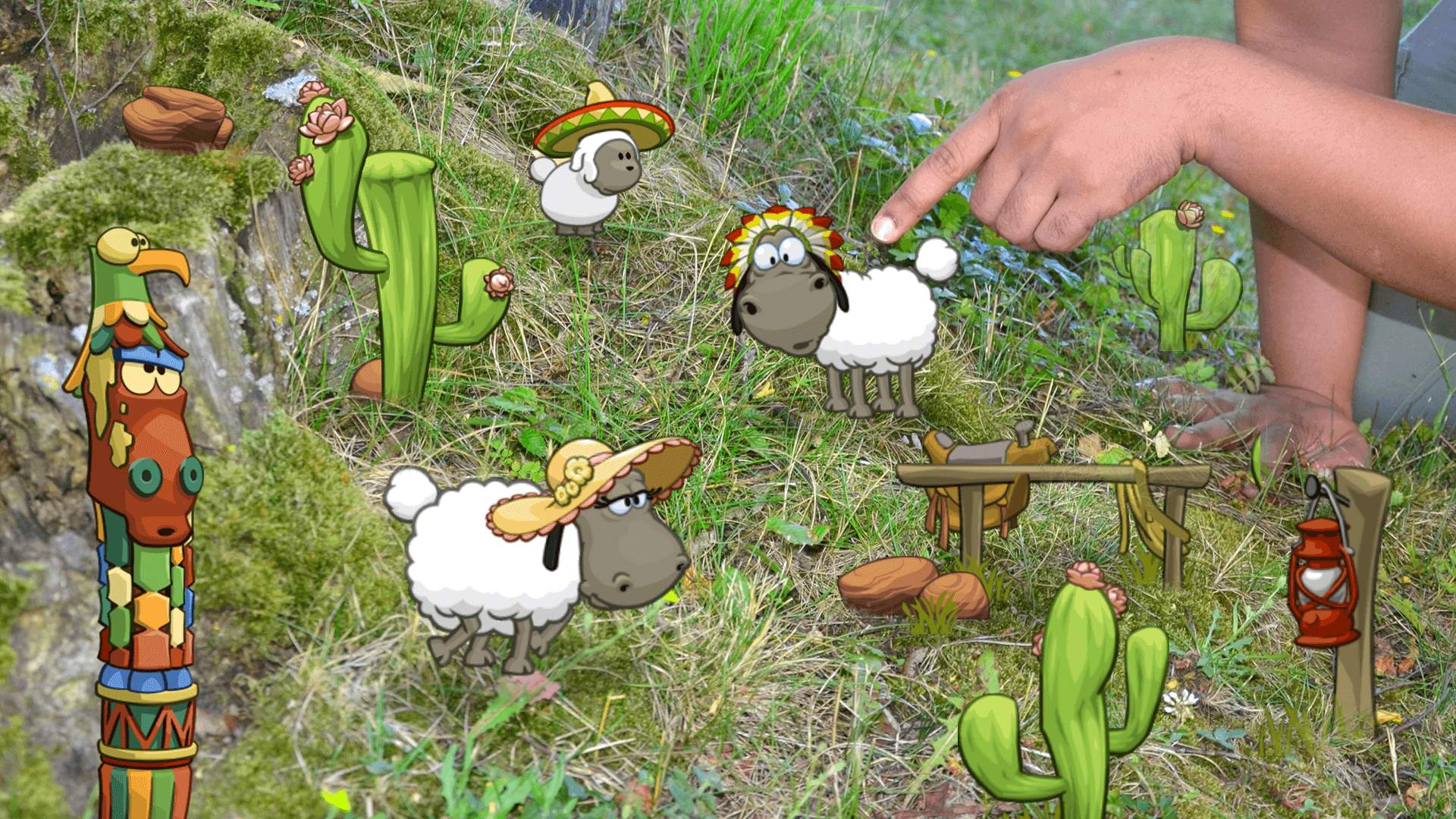 Clouds & Sheep AR Effects Screenshot 06
