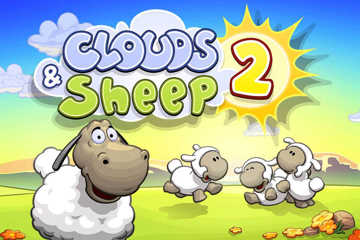 Clouds & Sheep 2 Papercraft Parallax Image