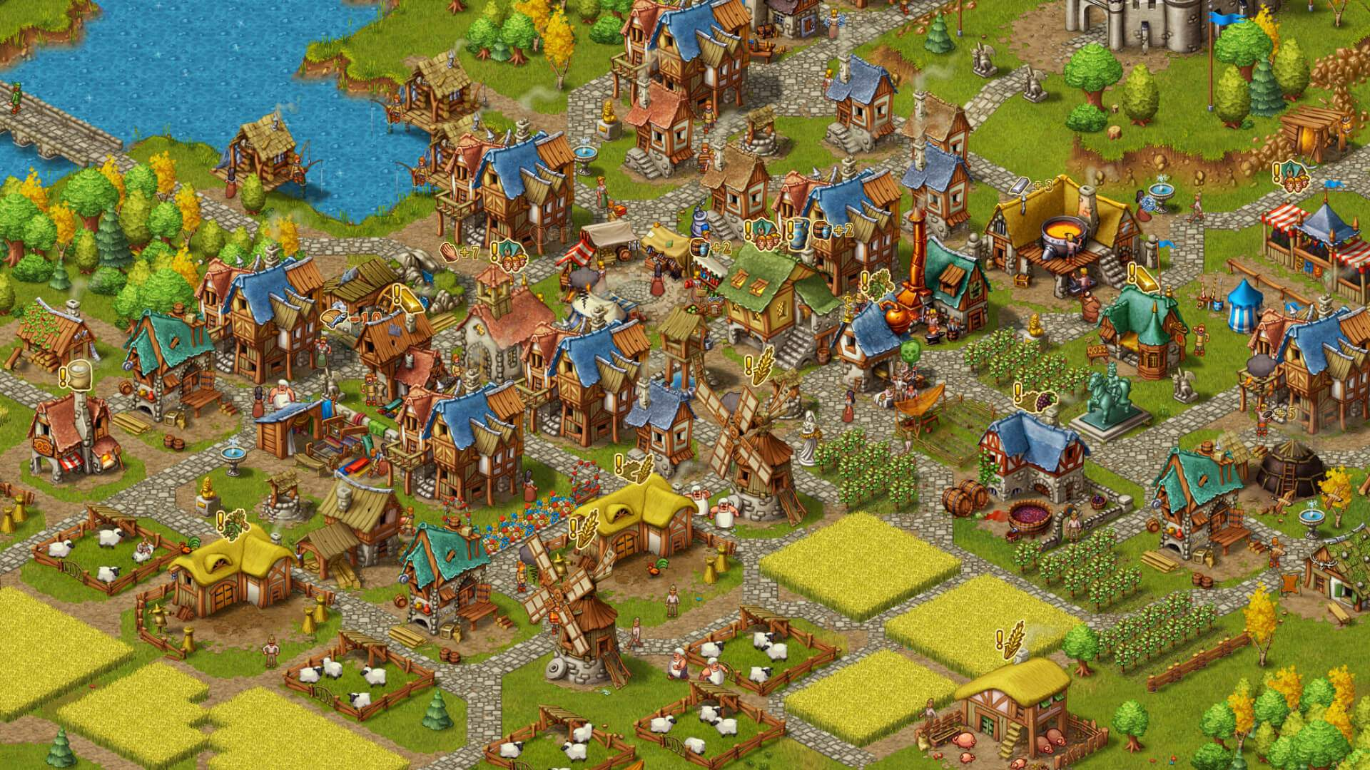 Townsmen ingame Screenshot 01