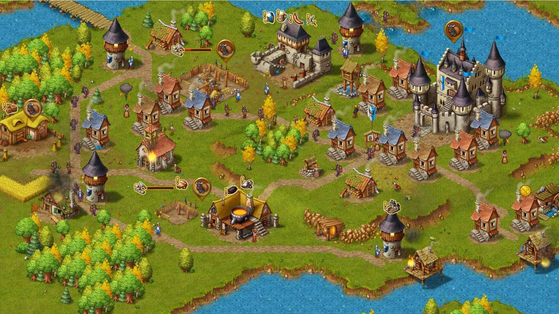 Townsmen ingame Screenshot 05