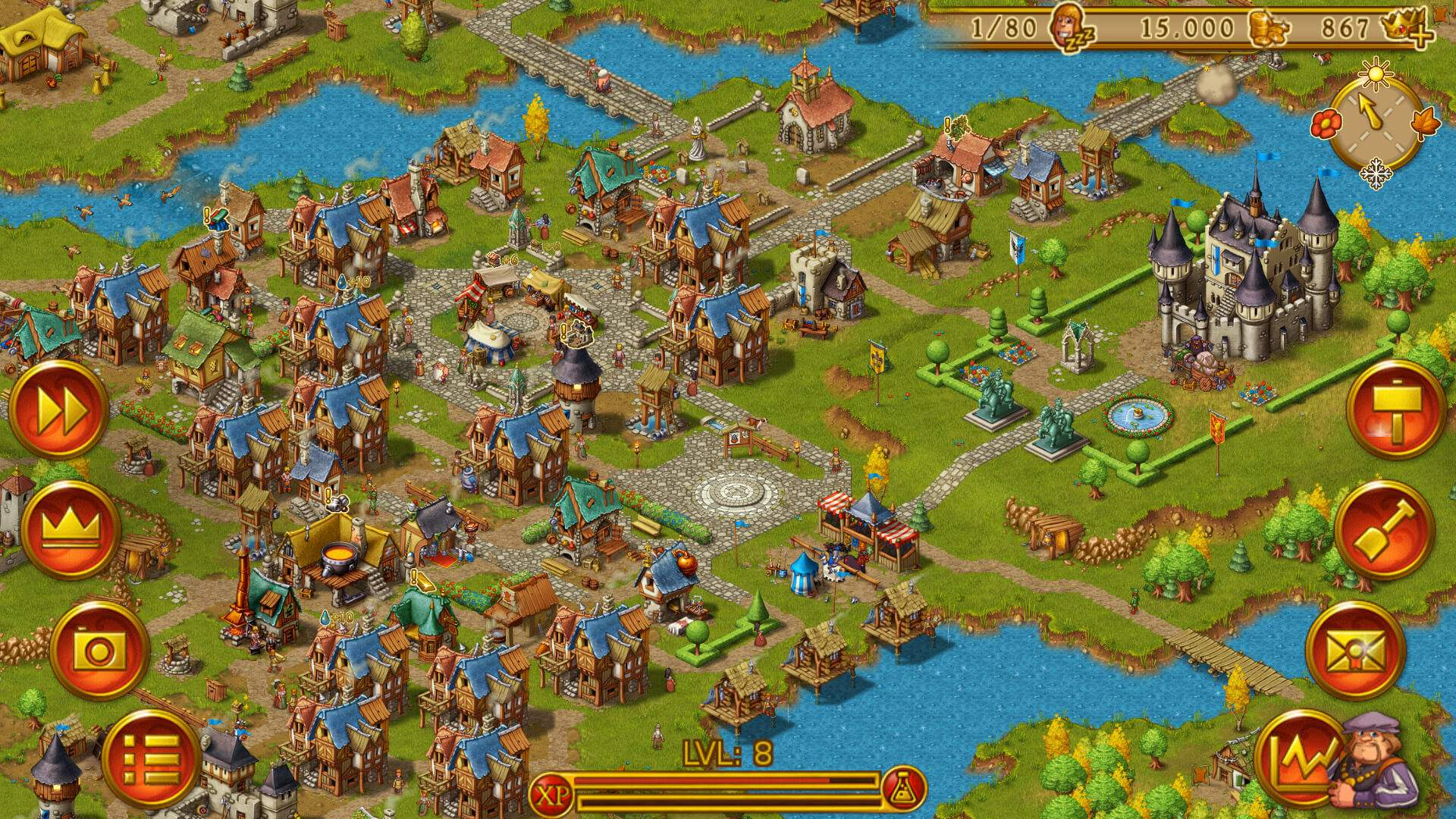 Townsmen ingame Screenshot 06