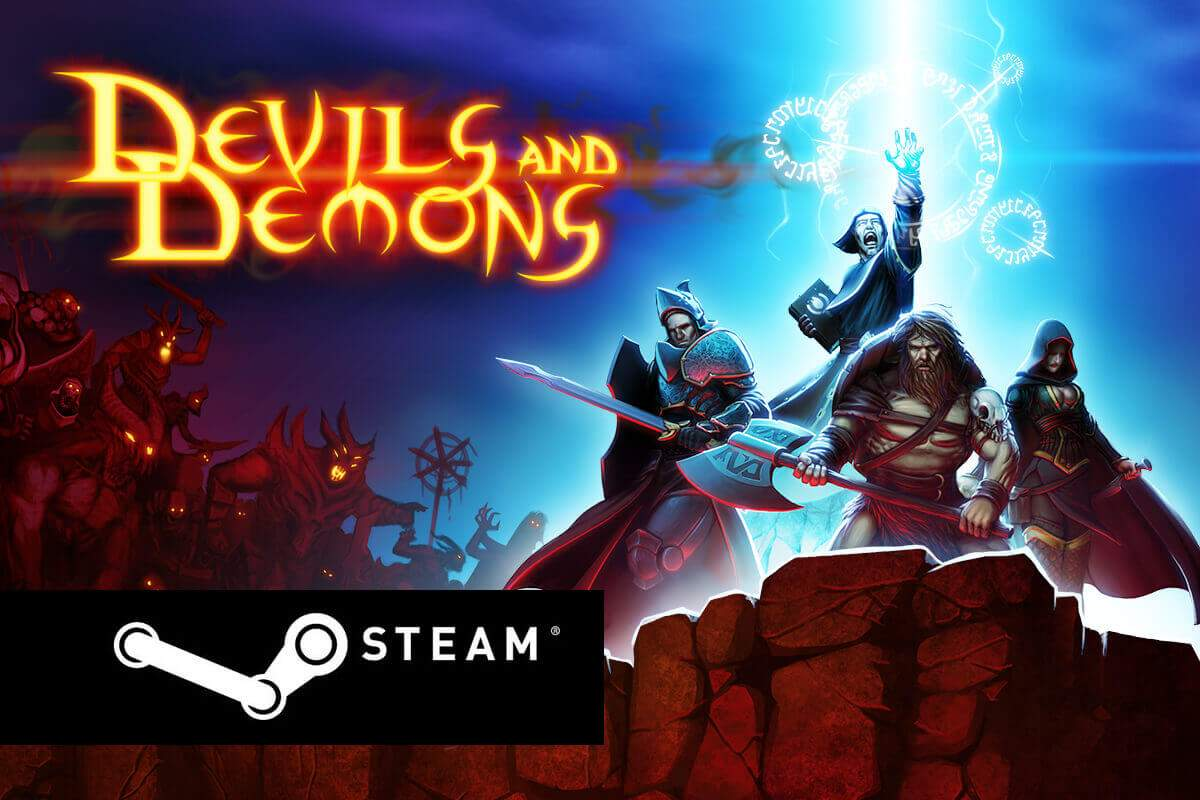 Devils And Demons is now available on Steam!