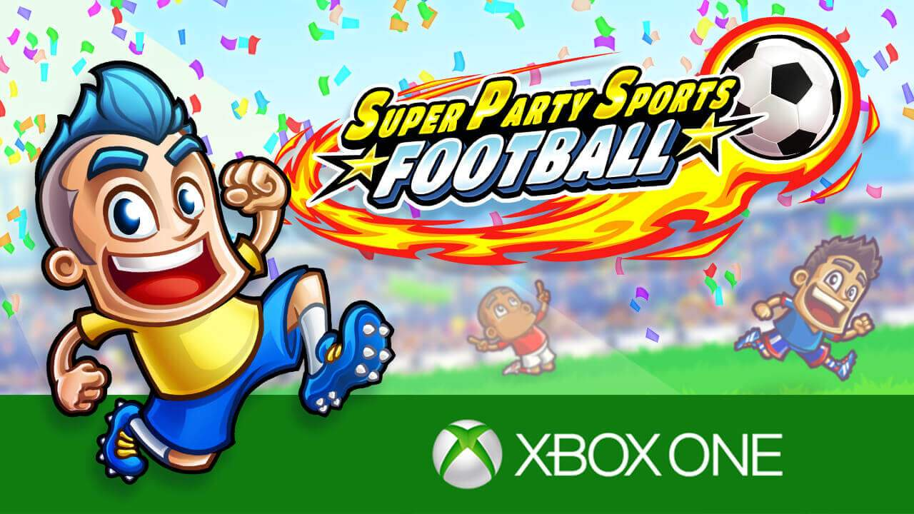 Super Party Sports: Football Xbox One Release