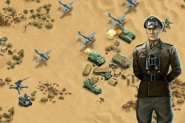 general screenshot panzer tanks soldier general desert strategy
