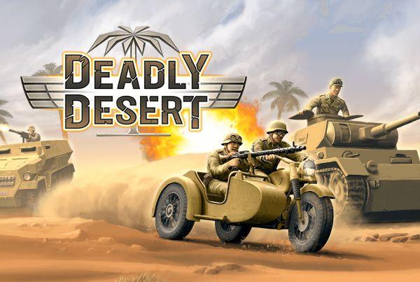 1943 Deadly Desert wüste tanks panzer war explosion