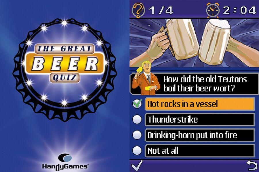 The Great Beer Quiz Screenshots