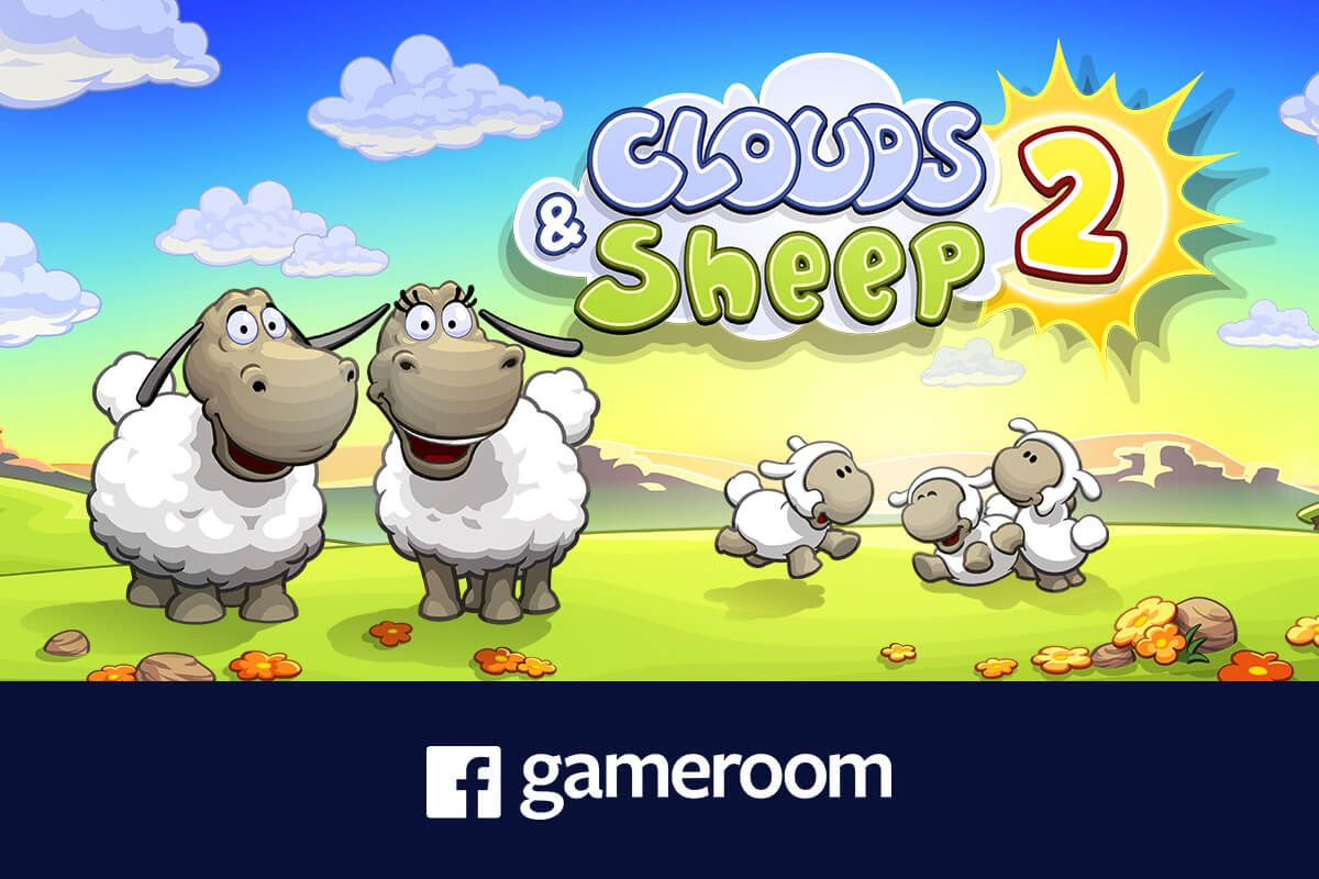 Play Clouds & Sheep 2 now on Facebook Gameroom!