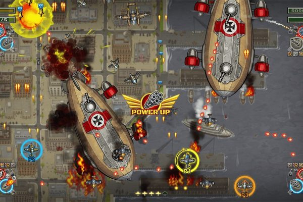Aces Luftwaffe Squadron Screenshot