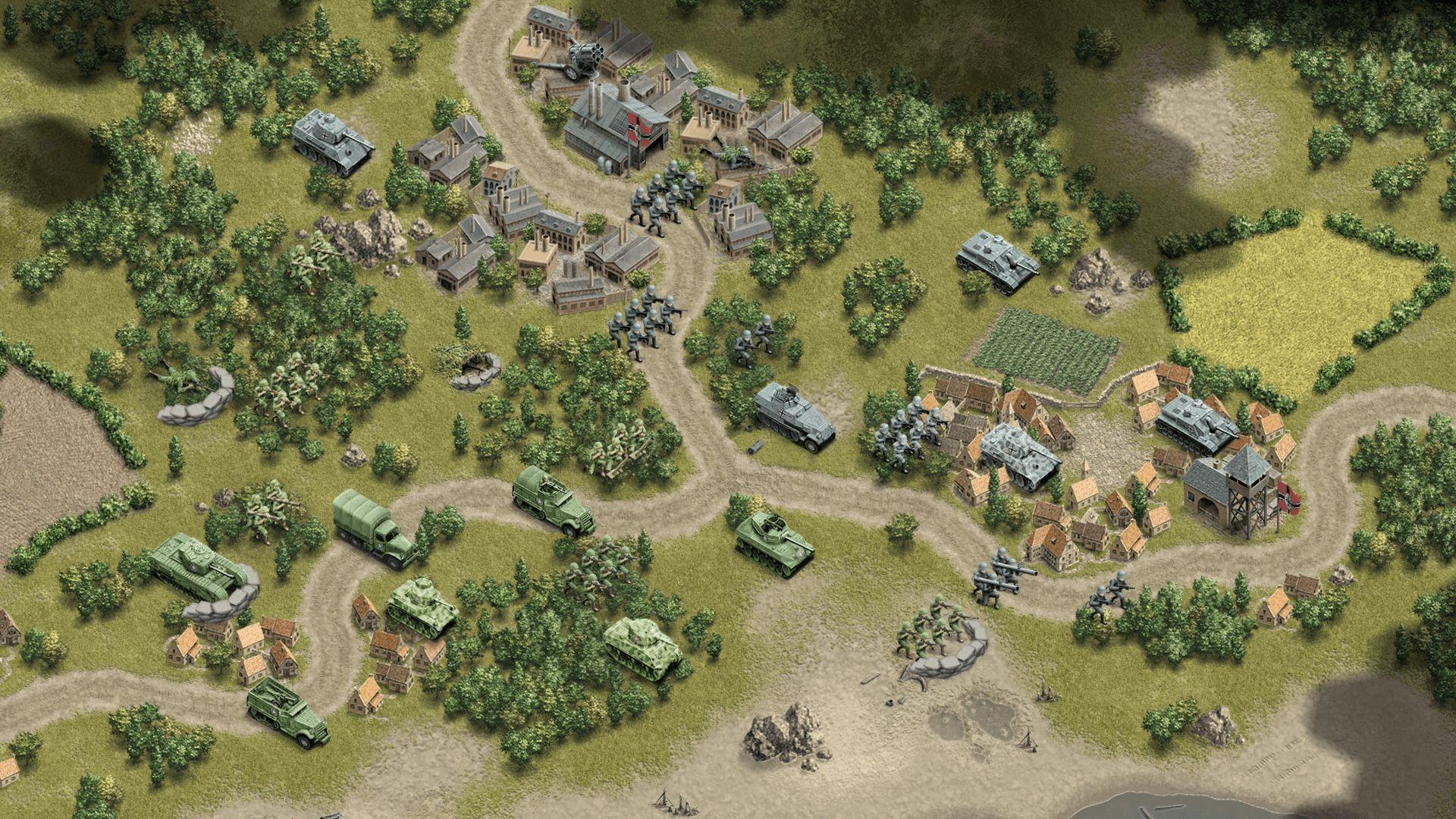 1944 Burning Bridges Screenshot 03
