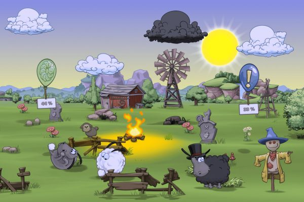 Clouds And Sheep 2 Screenshot