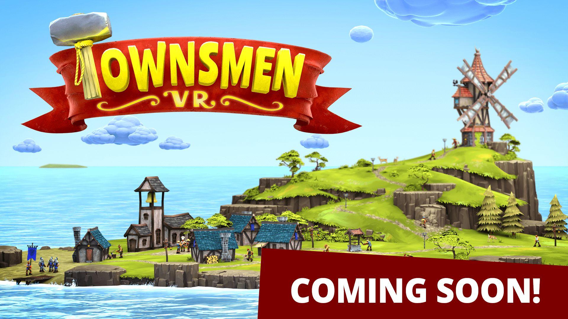 medieval vr townsmen coming soon