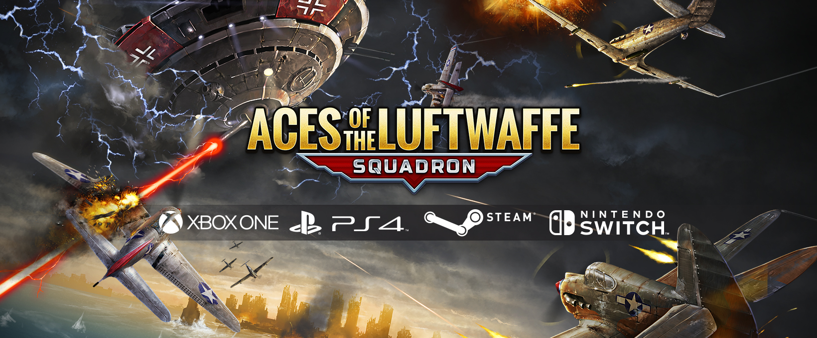 Aces of the Luftwaffe – Squadron on much more platforms!